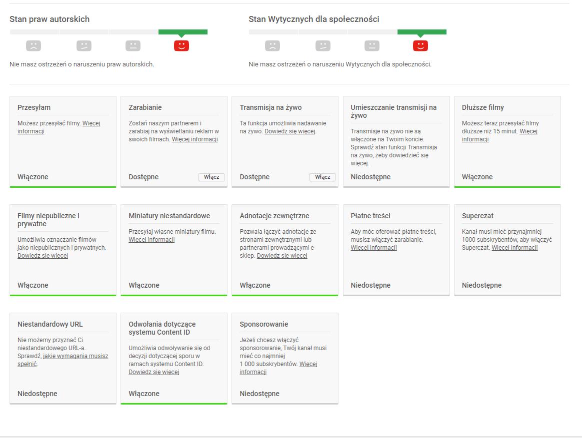 Weryfikacja telefoniczna konta na YouTube podsumowanie 2